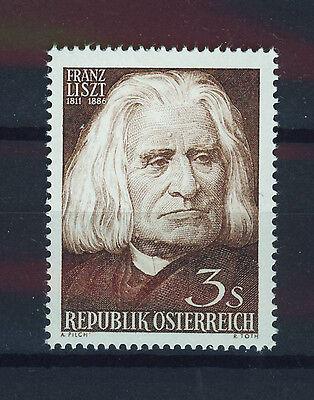 Humble Austria 1961 Mnh Sc.674 Franz Liszt,composer Rapid Heat Dissipation Stamps Austria