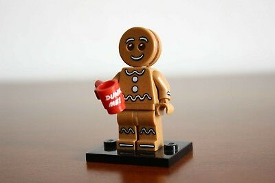 collectibles col11-6 New lego gingerbread man series 11 from set 71002