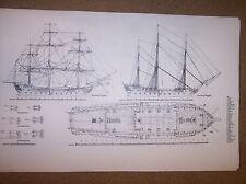 HMS LEOPARD ship plan