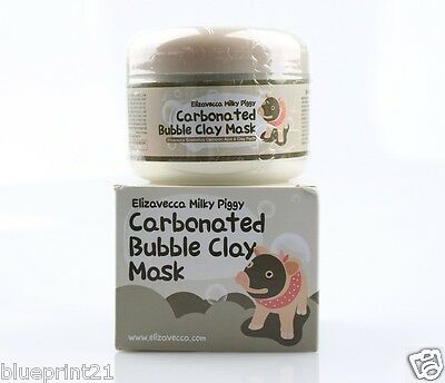 Elizavecca Carbonated Bubble Clay Mask 100ml Carbonic Acid Pore Cleansing