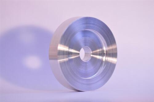 "2x 45 RPM Adaptor Aluminium Turntable Single 7/"" Record Centre Hole fit Technics"