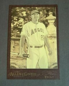 Mike Trout Los Angeles Angels 2017 Topps Allen and Ginter Box Topper #BL-MT