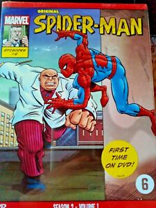 DVD  - SPIDER-MAN / SEASON 2 VOLUME 1  (ANIMATIE)   ( NEW  / NOUVEAU/ SEALED)