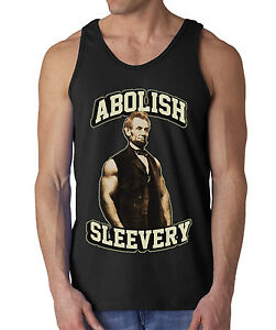 00e69a0daa2887 Image is loading ABOLISH-SLEEVERY-VEST-TANK-TOP-SLAVERY-ABRAHAM-LINCOLN-