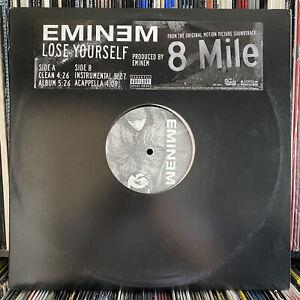 "EMINEM - LOSE YOURSELF (12"")  2002!!  RARE!!  SHADY RECORDS!!  8 MILE SOUNDTRACK"