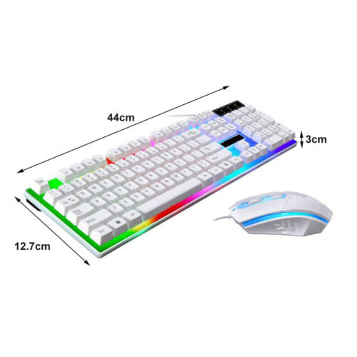Keyboard Mouse Sets Adapter For PS4//PS3//Xbox One And 360 Gaming Rainbow LED KY