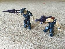 Halo Mega Bloks Covenant Weapons Pack Figures Jackal & Elite CNH22 & CNH21