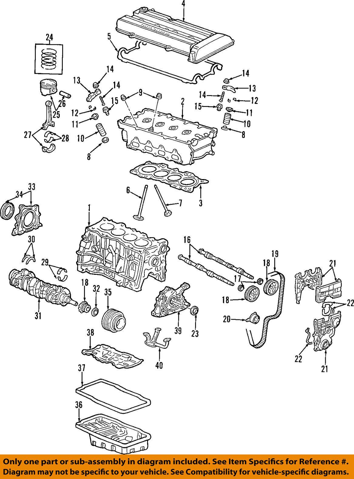 Honda Oem Engine Valve Spring Seat 14775pr4a00 Ebay Gsr Diagram Norton Secured Powered By Verisign