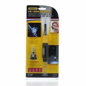 GENERAL-TOOLS-75108-8-IN-1-LED-LIGHTED-PRECISION-SCREWDRIVER-X11546-B