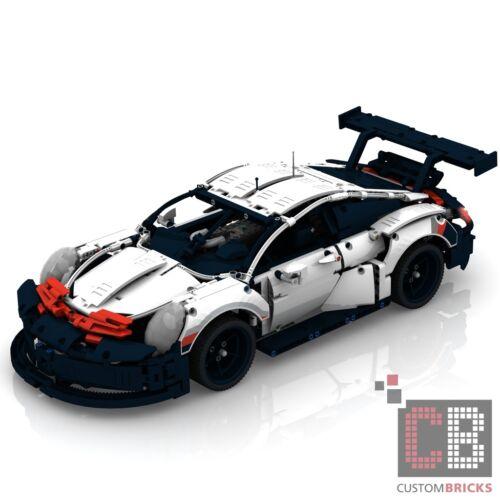 CB Eigenbau Bauanleitung Porsche ULTIMATE FULL RC Umbau für LEGO® Technic 42096