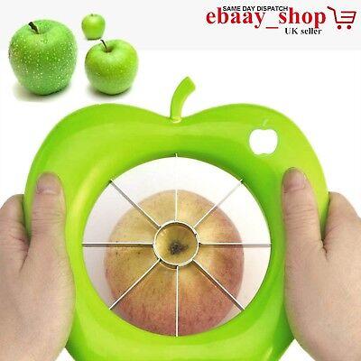 Apple Slicer Cutter Corer Wedger Pear Fruit Stainless Steel Peeler