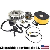 Carburetor Flywheel Ignition Coil Air Filter Kit For Stihl 044 Ms440 Chainsaw