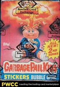 1986 Topps Garbage Pail Kids GPK Series 2 Wax Box, 48ct Packs, BBCE Auth