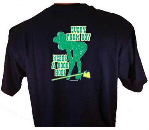 Every Farm Boy Needs A Good Hoe Farmers Farming T-Shirt
