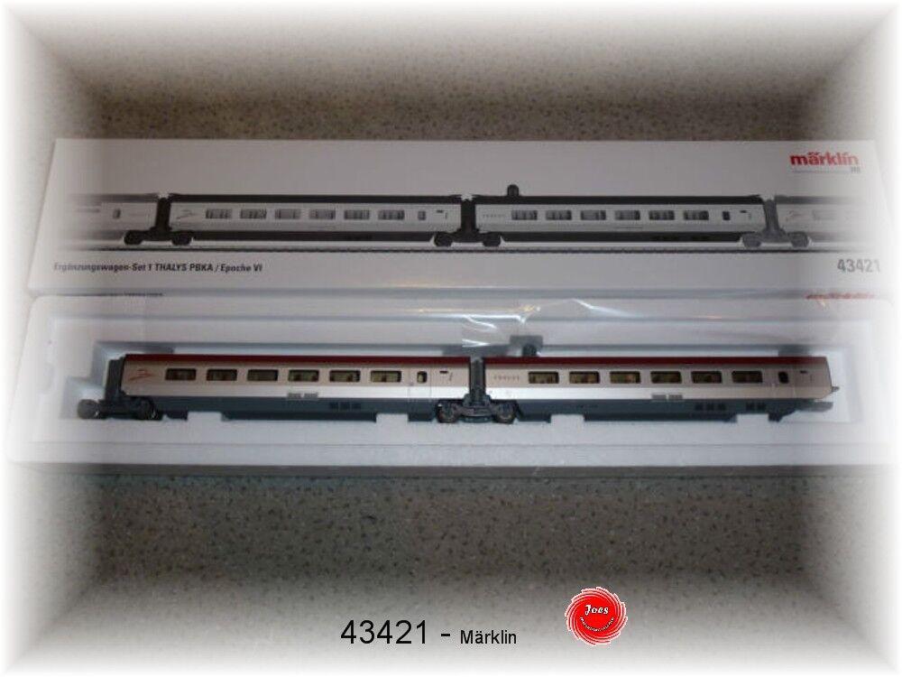Märklin 43421 Supplementary Wagon Set 1 for Thalys Nip