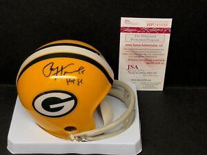 f81dd77b6c6 Paul Hornung Signed Green Bay Packers Football Mini-Helmet