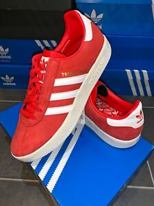 Adidas-Trimm-Trab-UK-11-Eur-46-Red-CW-City-Series-Liverpool-Edition-Star-Master
