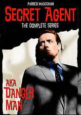 Secret Agent: The Complete Series Danger Man Patrick McGoohan NEW