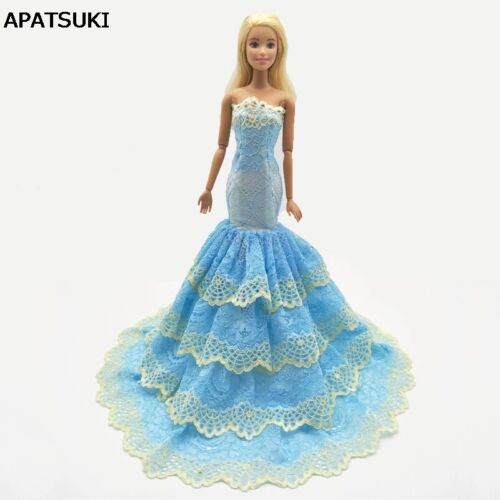 Green Lace Mermaid Clothes For 11.5 Doll Dress For 1/6 Doll Clothes Kid Toy
