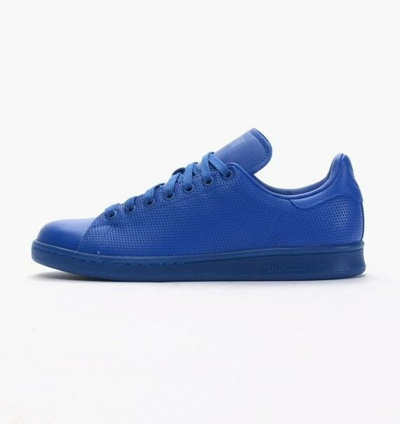 Adidas Originals Homme Stan Smith Adicolour Trainers Style Bleu S80246
