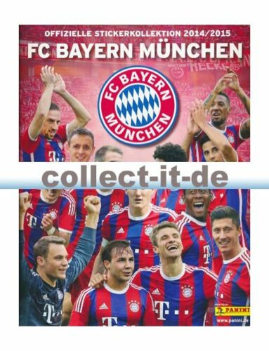 Panini-fc bayern munich-sticker colección 2014//15 álbum