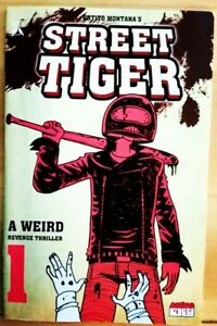 STREET-TIGER-1-2017-AMIGO-Comics-VF-NM-Book