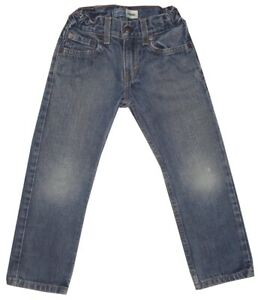 KIDS-BOYS-LEVI-039-S-SIGNATURE-STRAIGHT-MEDIUM-WASH-LIGHT-DISTRESS-BLUE-JEANS-SZ-6