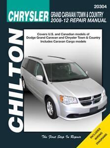 chilton books 20304 repair manual caravan town country 2008 12 rh ebay com town and country repair manual for 2016 ebay town and country repair manual pdf