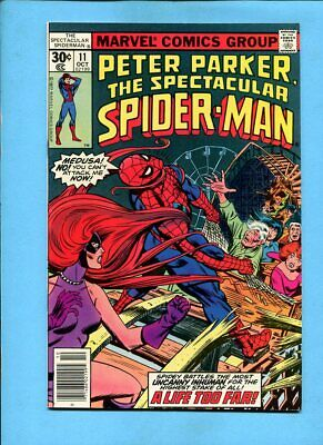"BX99 1977 Marvel /"" Spectacular Spider-Man /"" # 11 VF//NM"