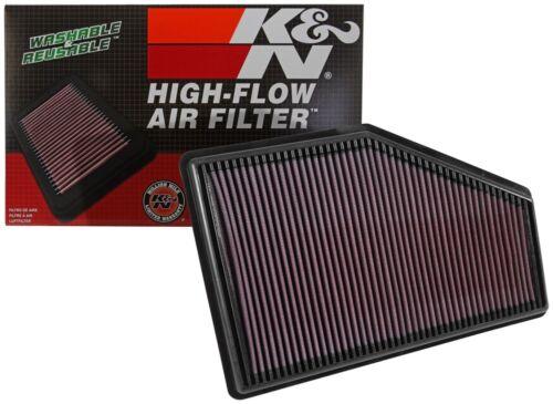 K/&N Hi-Flow Air Intake Filter 33-5049 For Chevy Malibu /& Buick *See Detail*