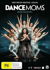 DANCE-MOMS-SEASON-8-COLLECTION-1-DVD-SET-SEALED-FREE-POST