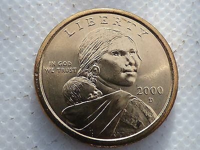 2000 P/&D Sacagawea Dollars from Mint Rolls