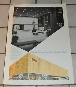 Vintage-Dayton-039-s-Department-Store-St-Paul-New-Plaza-Advertising-Poster