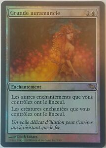 Grande-Auramancie-PREMIUM-FOIL-VF-French-Greater-Auramancy-Magic-mtg
