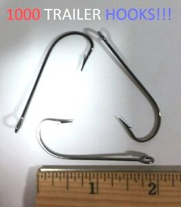 1000 Lazer Sharp 3/0 Platinum Black Trailer Hooks (L261BPM-3/0) EB090406