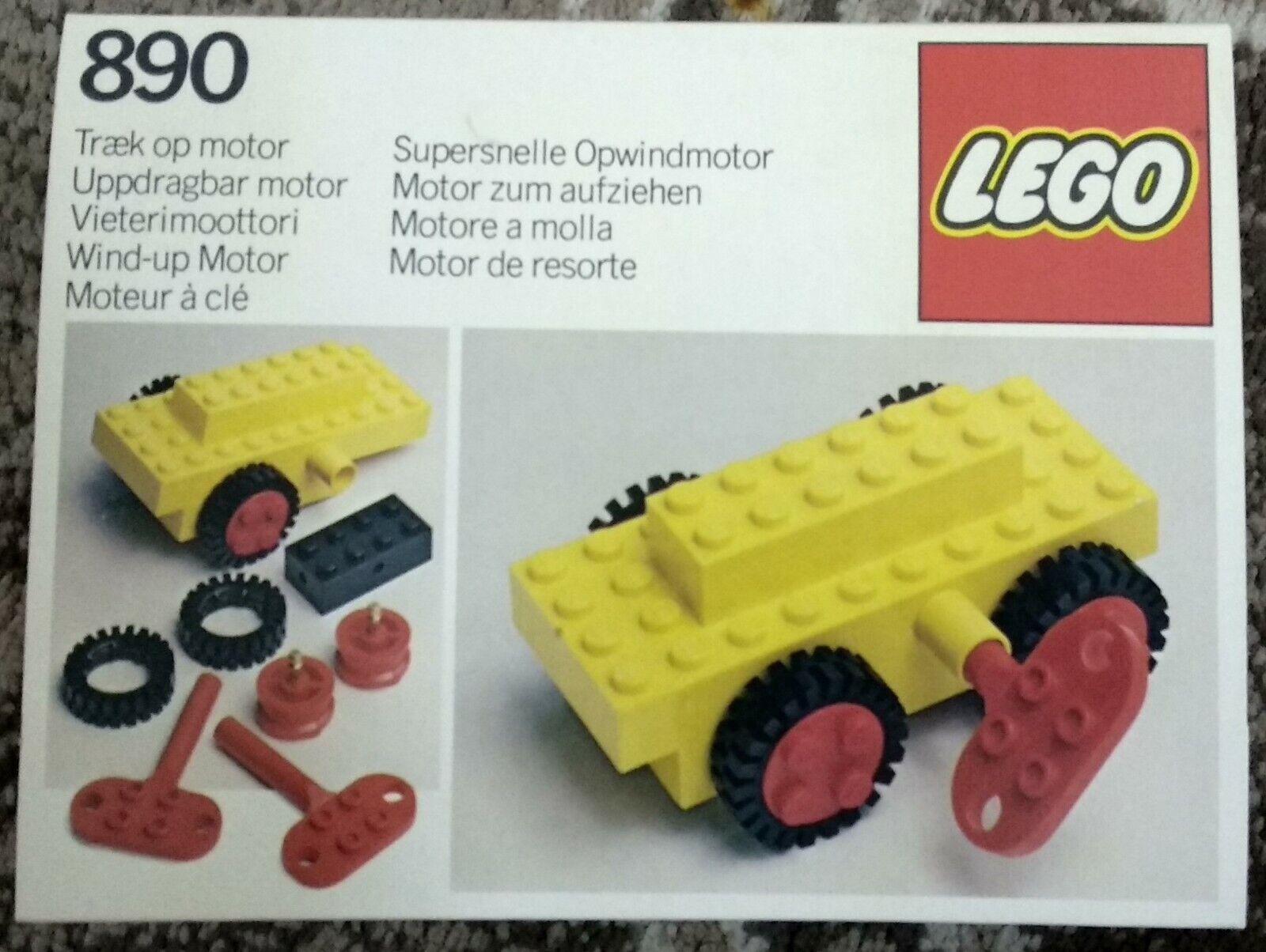 Lego engine key vintage classic wind up motor key x385 bb0047 set 895 890 599