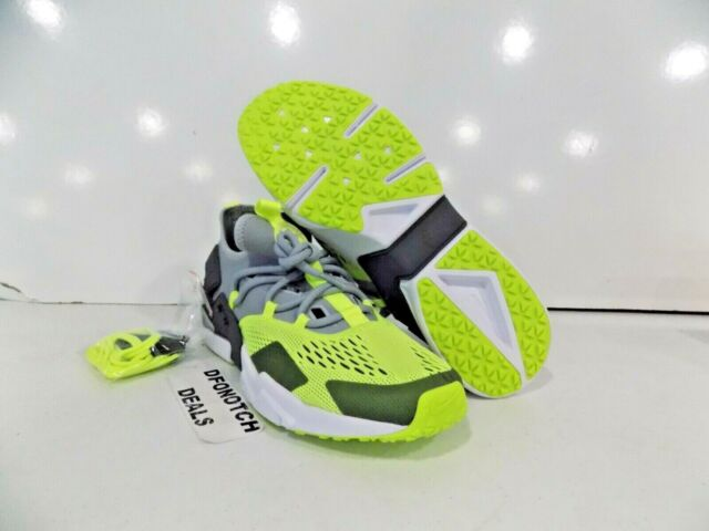 sale retailer 69626 7ad27 Nike Air Huarache Drift BR Running Shoes Sz 11 Grey Volt AO1133-001 NEW  130