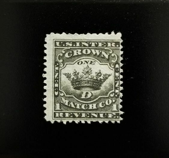 Crown Match Co. U.S.A. Internal Revenue 1c RO67b Privat