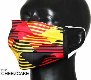 Nasen-/Mundmaske Design CHEEZCAKE - Spuckschutz -