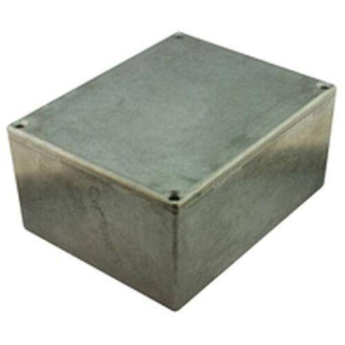 De Pared Delgada Diecast aluminio proyecto Caja 188x120x82mm