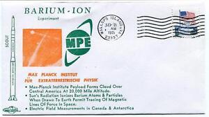 1971 Wallops Island Barium Ion Experiment Mpe Scout Wff Goddard Base Nasa Des Performances InéGales