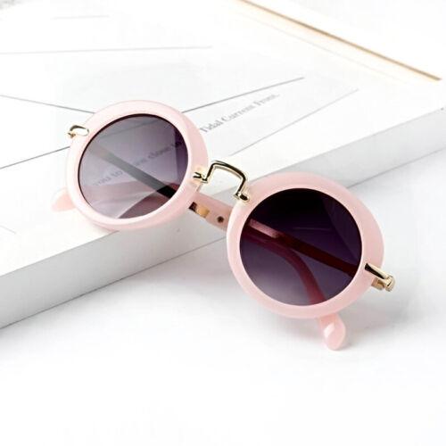 Round vintage Kids Sunglasses Girl Protective Sun Glasses Children Eyewear UV400