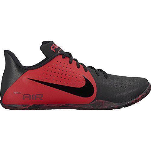 Nike air - basso basket uomini scarpe rosso / nero 898450 600 univ scegliere le università rosso / nero