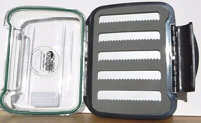 KVSFCP862L1018 P5 CRYSTAL RIVER TWO SIDED PLASTIC FLY BOX