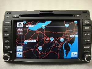 2010 2013 Kia Sportage Oem Gps Navigation System Display