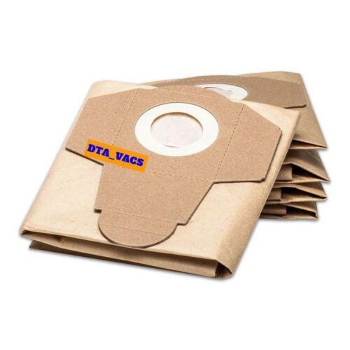 5 QUALITY VACUUM CLEANER BAGS FOR RYOBI  VC20HD