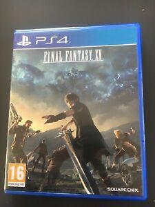 Final fantasy 15 XV ps4