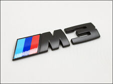NEW 3D BMW M3 Black Sport Rear Sticker Badge M TECH 1 3 5 6 7 8 Series X3 X5 X6