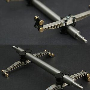 Eje-de-suspension-metal-LESU-pasivo-escala-1-14-camion-de-placa-de-remolque-TAMIYA-RC-Hazlo-tu-mismo