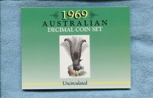 1969-Mint-Coin-Set-Uncirculated-UNC-Sherwood-Australia